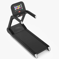 gym equipment treadmill exercise 3d model