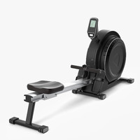 rowing machine 3d max