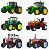 3d model tractors 2