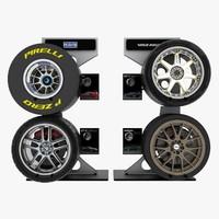 3ds max wheel