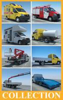 truck gazelle 3d 3ds