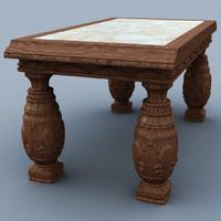 maya medieval table