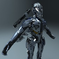 3d zbrush concept robot