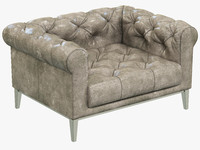 3ds max restoration hardware italia chesterfield