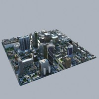 BUY NOW! City Block Mid Poly
