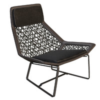 outdoor wicker chair maia 3d max