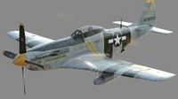 P-51D - Mustang - The Flying Undertaker