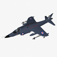3d bae sea harrier frs1
