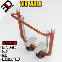 outdoor air walk 3d max
