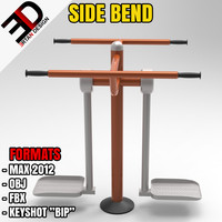 3d outdoor bend