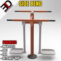 3d outdoor bend model