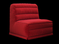 velour sofa bed 3d max