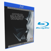 3d double case closed blu-ray model