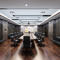 conference room 3d max