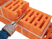 brick anker 3d max