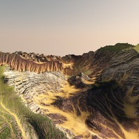 3d model cg lanscape