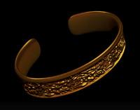 3d model jewelry bracelet
