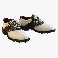 Ecco - Gtx White Brown Golf Shoes