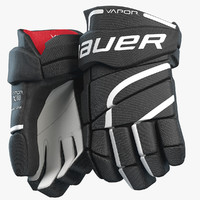 3d model bauer vapor hockey gloves