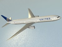 3d model b 767-400 er airliner