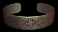 3d jewelry bracelet stl