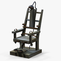 electric chair 3d x