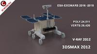 obj exomars rover