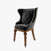 gamecock chair 3d model