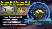 3ds max 2016 Anniversary Vol 3 e 4 Cd Front