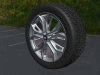 3d max wheels