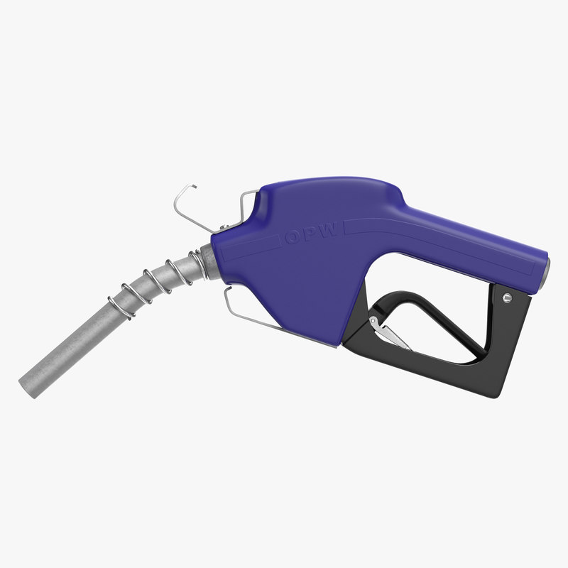 Fuel Nozzle Blue 3d model 01.jpg