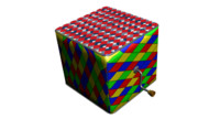 3d model of jack box