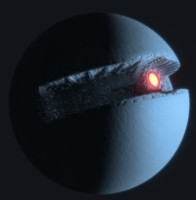 3d model of starkiller base