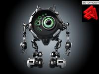 sci-fi robot x