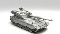 stratos m2 futuristic tank 3d max