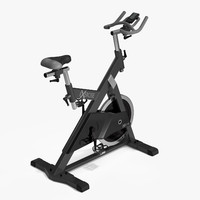 exercise bike 3d max