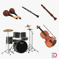 3d musical instruments