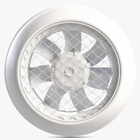 3d model indoor fan