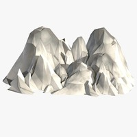 c4d mountains