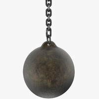 wrecking ball mesh 3d model