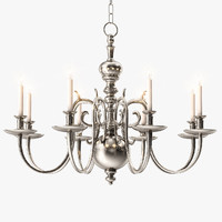 18th century chandelier light max