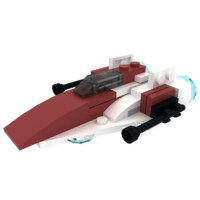 LEGO A-Wing Starfighter Mini
