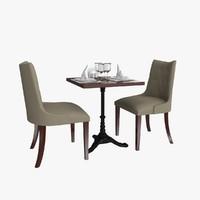 table flatware 3d max