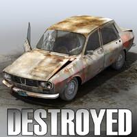 derelict car max