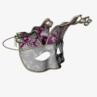 3d carnival mask model