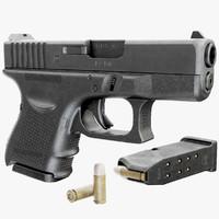 3d gun glock 26 gen4 model