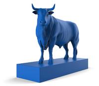 3d model bull version