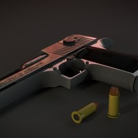 desert eagle 44 mk7 3d model
