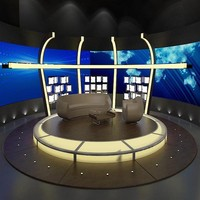 3d model of tv chat program 020