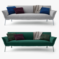 3d model jardan lewis sofa